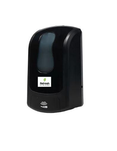 black soap & sanitiser dispenser