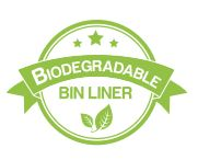 Biodegradable bin liner